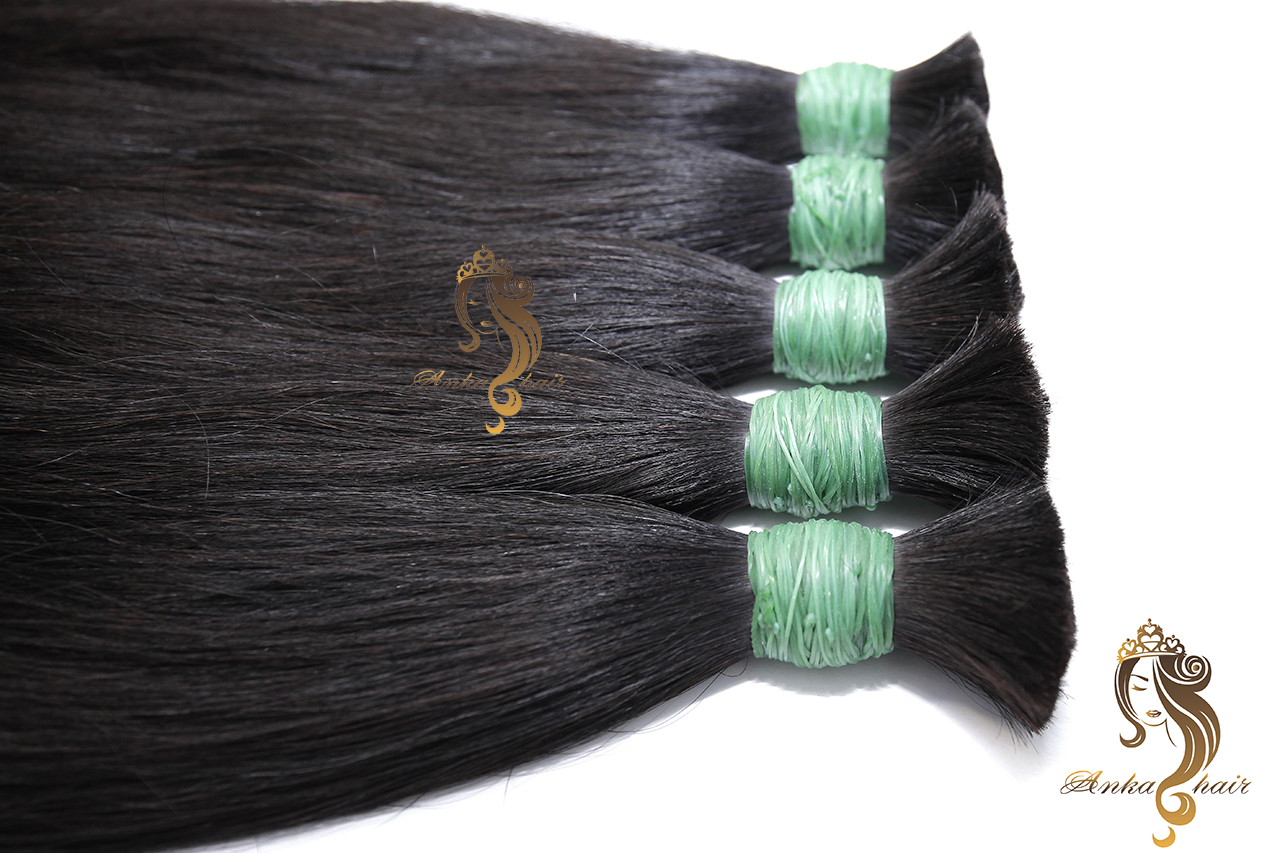 Double Drawn Bulk Hair Anka Hair